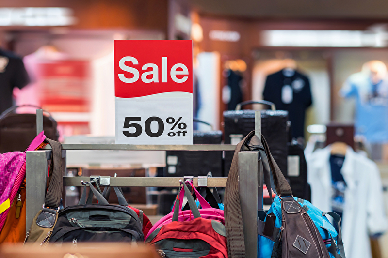 Räumungsverkauf Einzelhandel